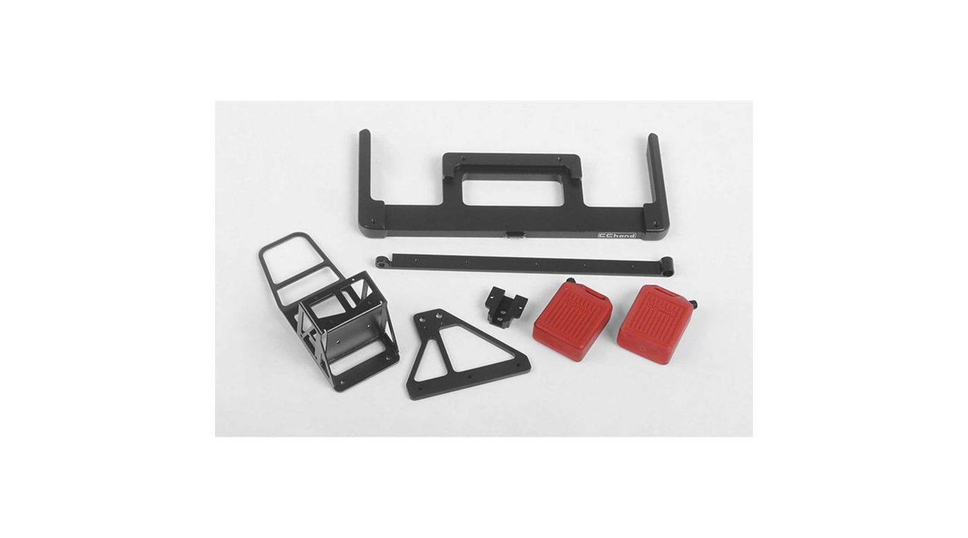 Image for Velbloud Rear Bumper (Acc. B): 1985 Toyota 4Runner Hard Body from HorizonHobby