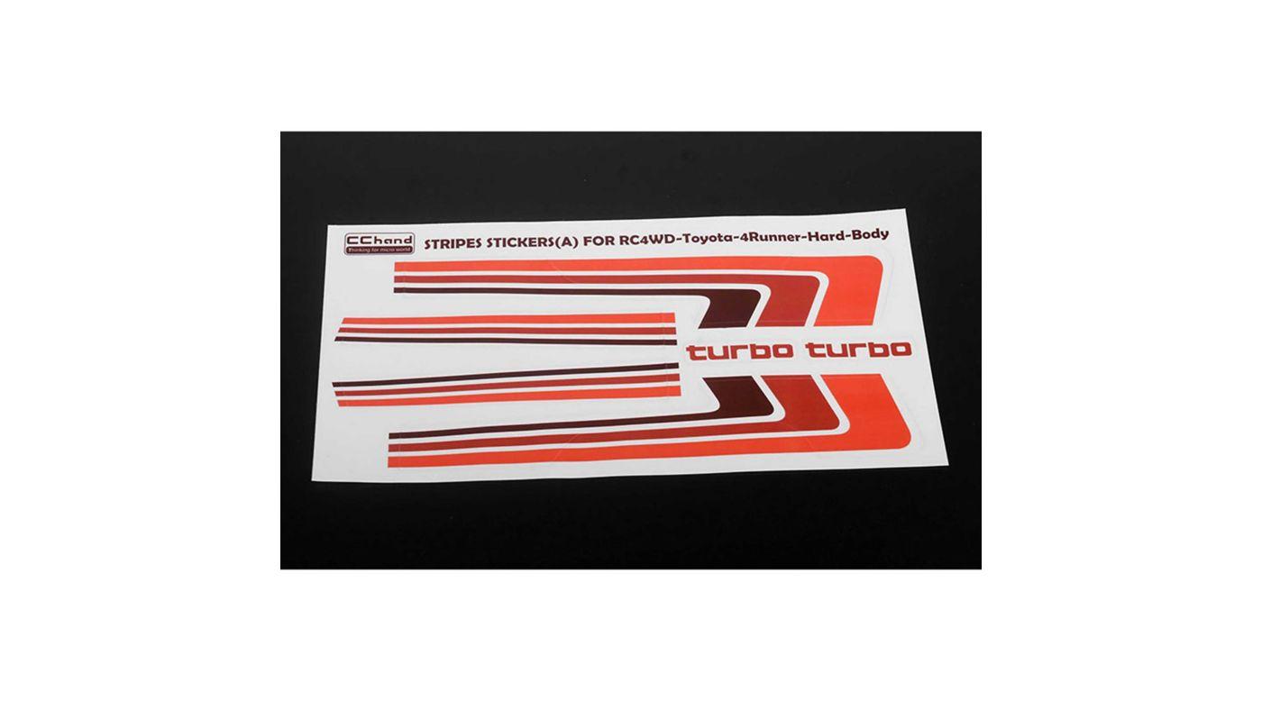 Image for Retro Body Stripes: 1985 Toyota 4Runner Hard Body from HorizonHobby