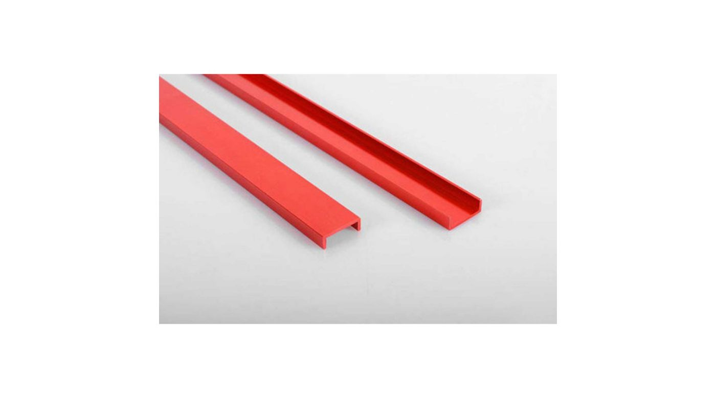 Image for Semi Truck Chassis Frame Rails, Red from HorizonHobby