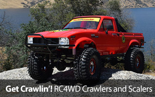 Check out all the RC4WD Scalers and Crawlers available on HorizonHobby.com