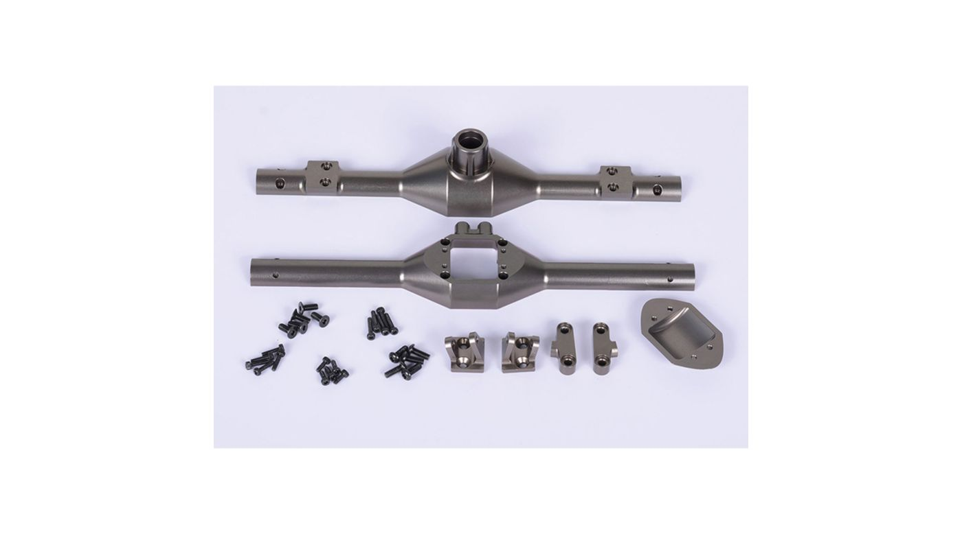 Image for Aluminum Rear Axle Case: Vaterra Twin Hammers from HorizonHobby