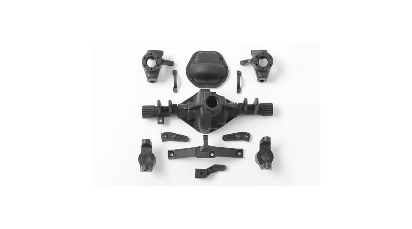 Image for D44 Plastic Front Axle Replacement Parts from HorizonHobby