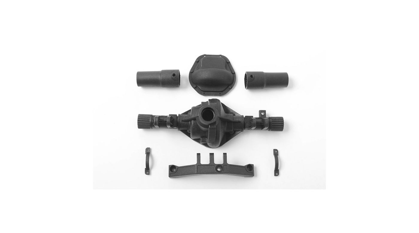 Image for D44 Plastic Rear Axle Replacement Parts from HorizonHobby