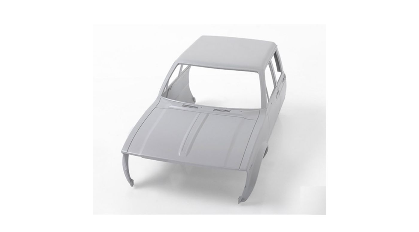 Image for Mojave II Four Door Front Cab Primer Gray from HorizonHobby