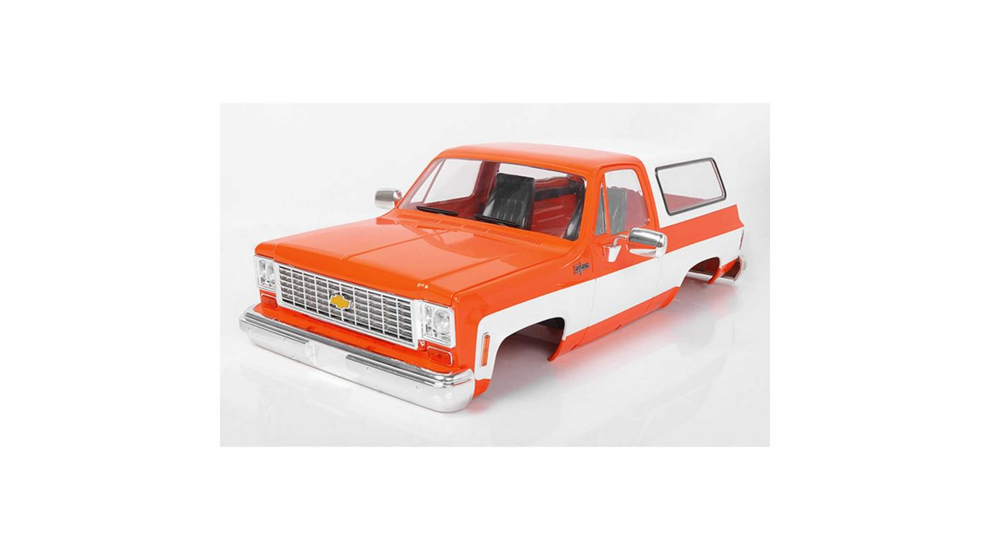 Image for Chevrolet Blazer Hard Body Complete Set Orange from HorizonHobby