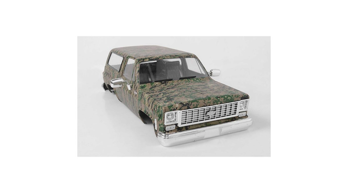 Image for Chevrolet Blazer Hard Body Set Digital Camo from HorizonHobby
