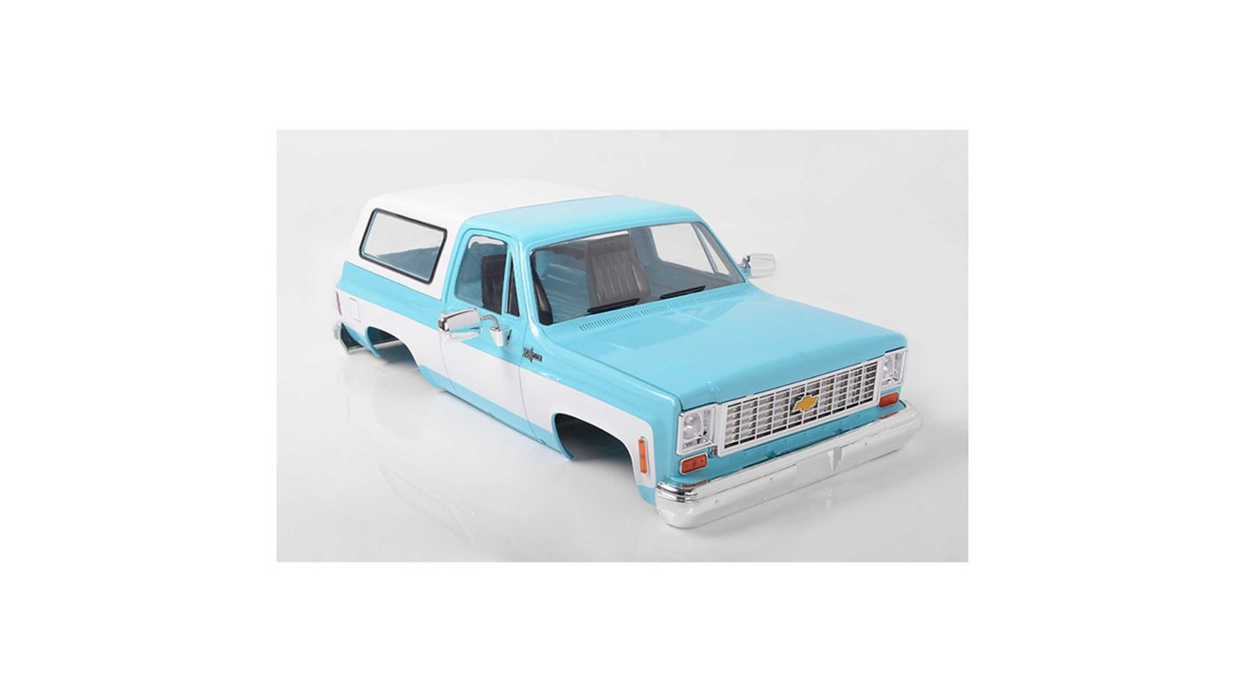 Image for 1/10 Chevrolet Blazer Hard Body Complete Set, Light Blue from HorizonHobby