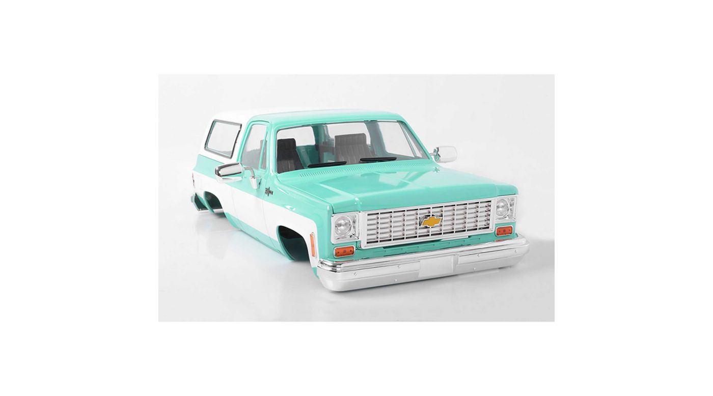 Image for Chevrolet Blazer Hard Body Complete Set Teal from HorizonHobby