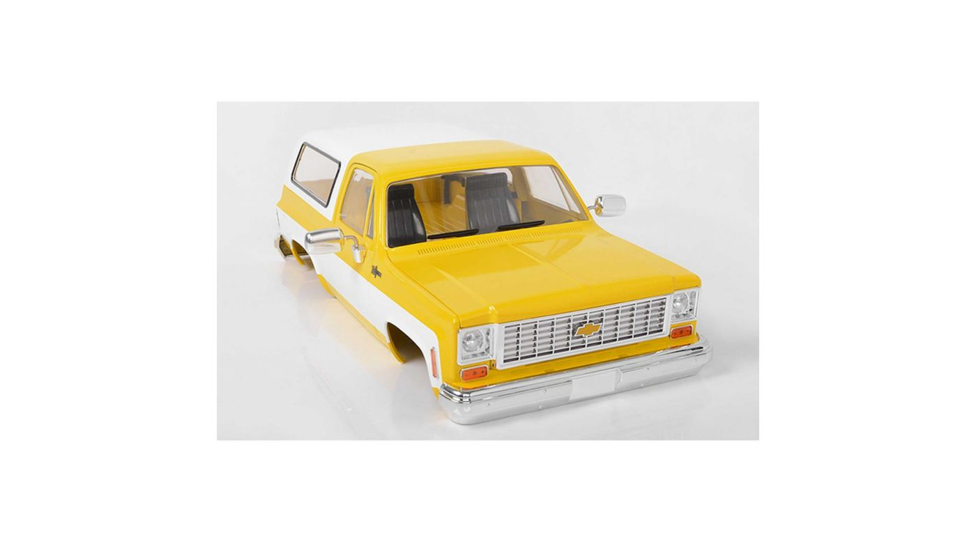 Image for Chevrolet Blazer Hard Body Complete Set Yellow from HorizonHobby