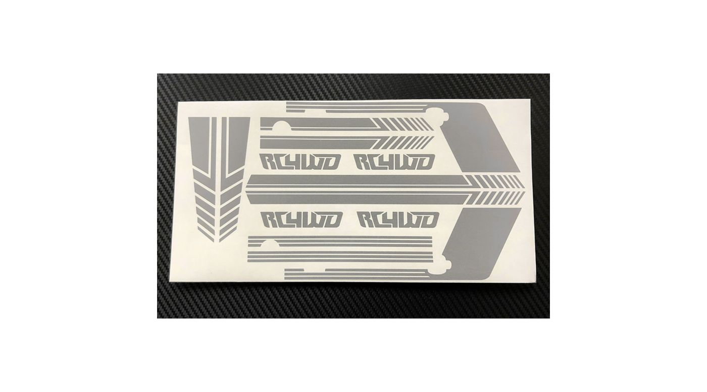 Image for Clean Stripes Decal Sheet, Grey: D110 from HorizonHobby