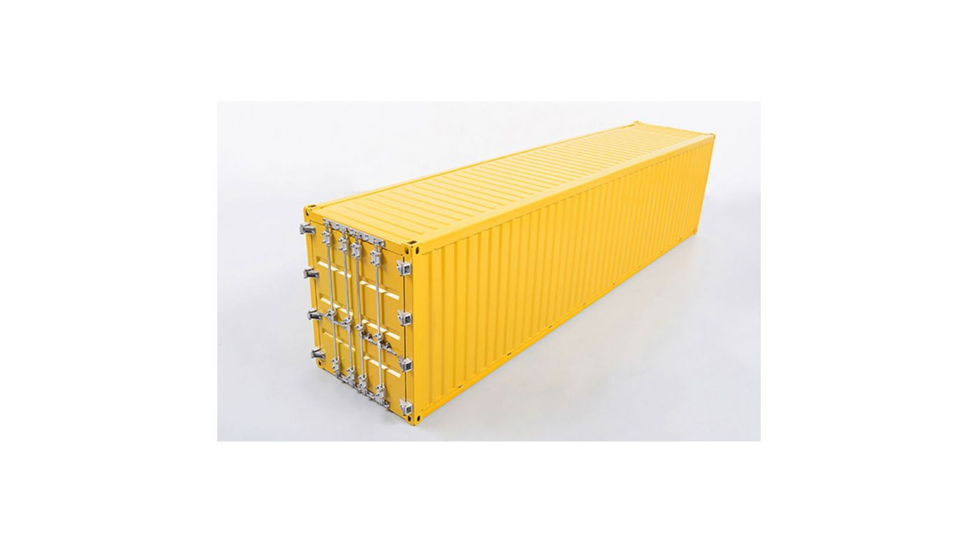 Image for 1/14 Metal 40' Shipping Container, Red from HorizonHobby