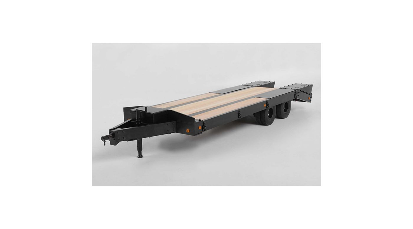 Image for BigDog 1/14 Dual Axle Scale Heavy Equipment Trailer from HorizonHobby