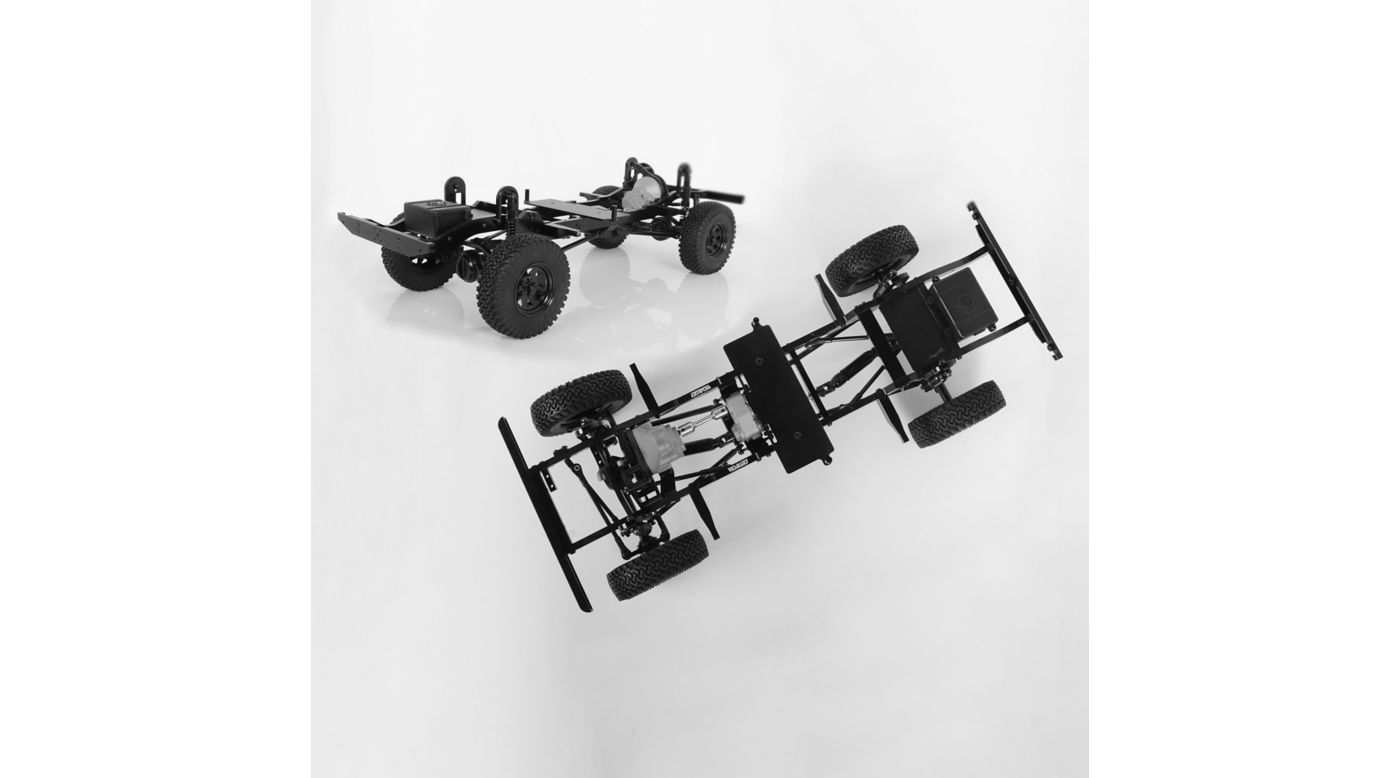 Image for 1/10 Gelande II 4WD Truck Kit LWB Chassis Kit from HorizonHobby