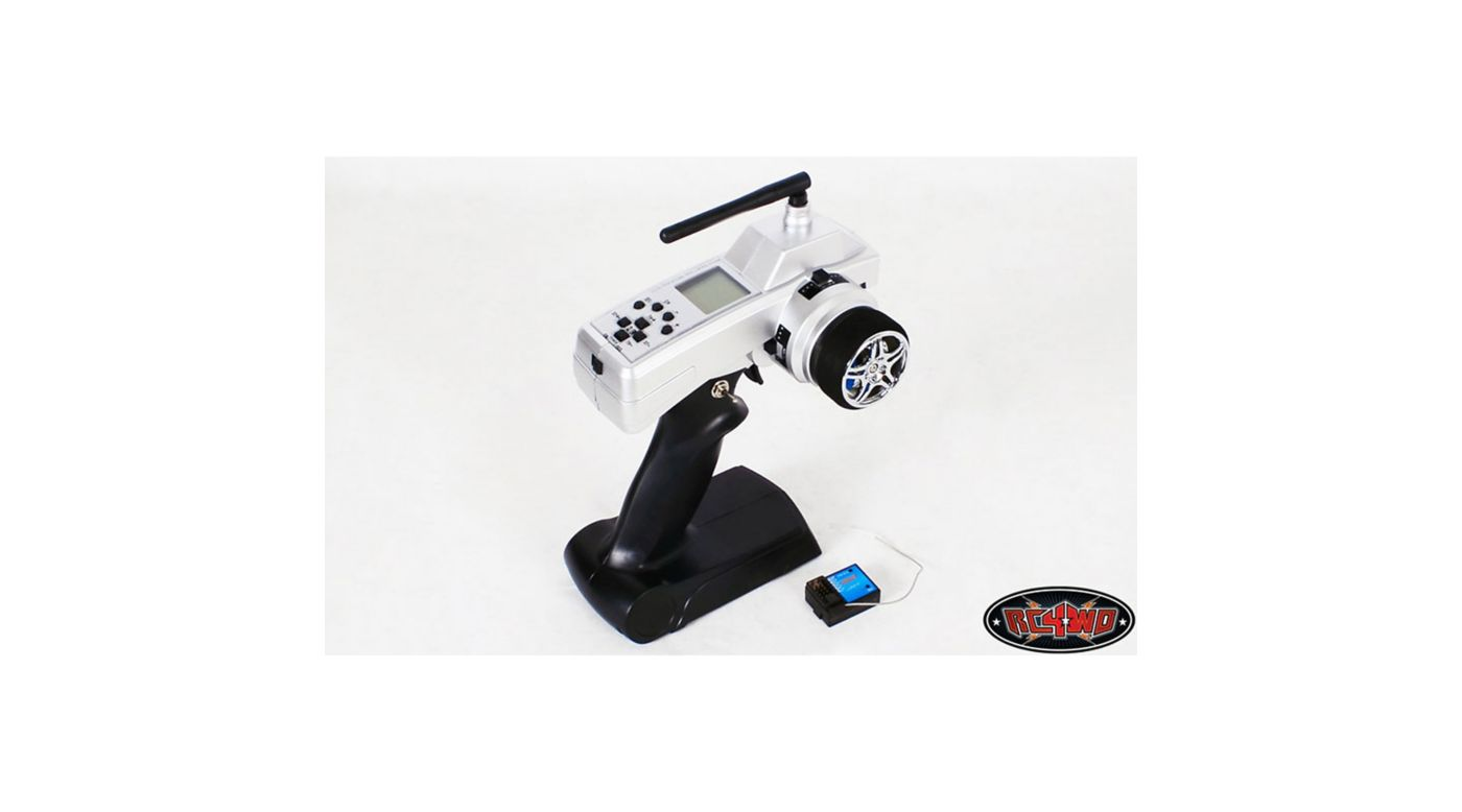 Image for XR4 4-Channel 2.4GHz Transmitter/Receiver Radio from HorizonHobby