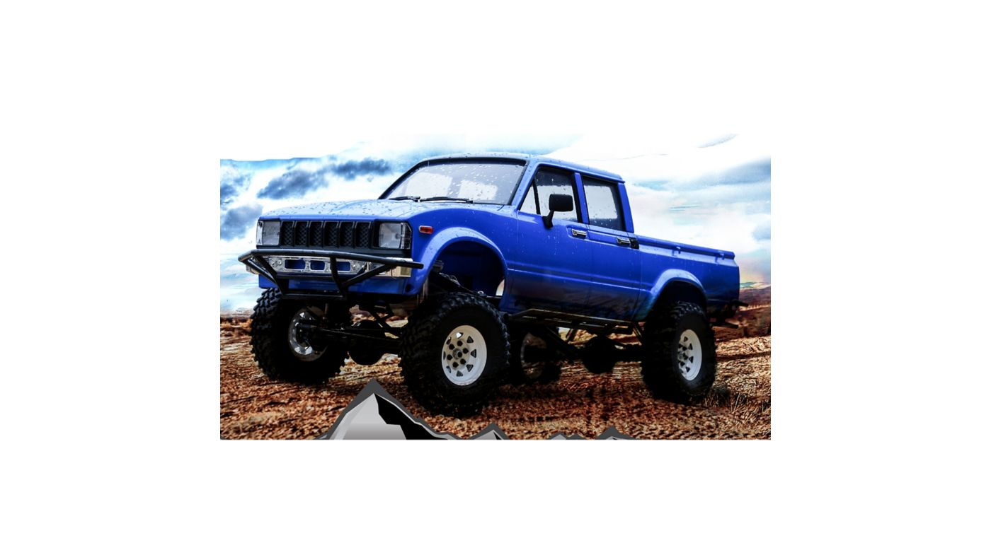 Image for 1/10 Trail Finder 2 LWB Brushed RTR, Mojave II 4-Door Body from HorizonHobby