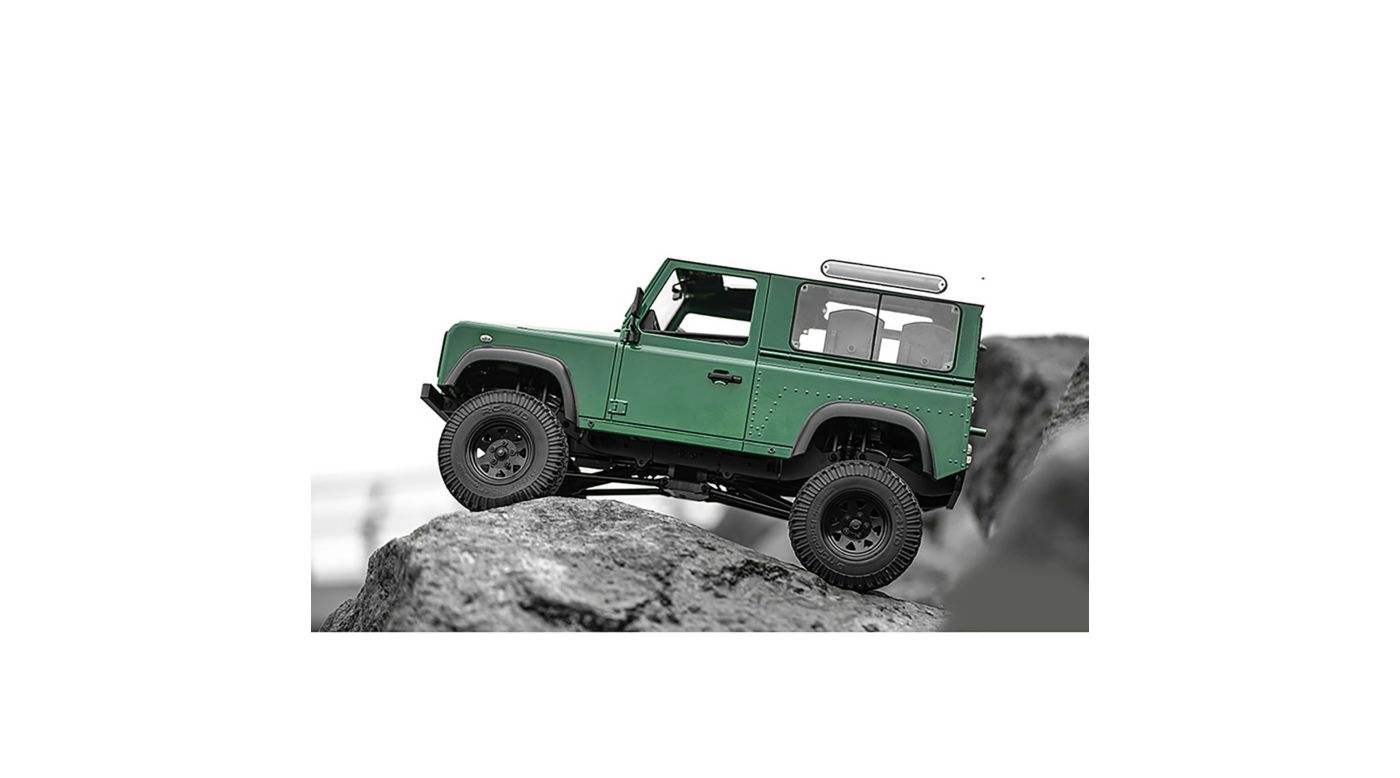 Image for 1/10 Gelande II Truck Brushed RTR, Defender D90 Body from Horizon Hobby
