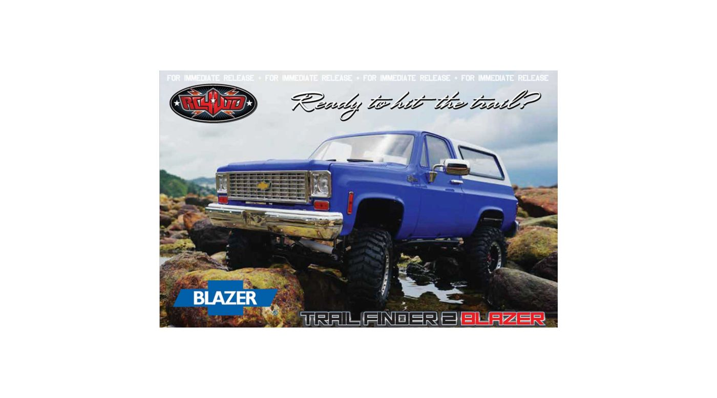 Image for 1/10 Trail Finder 2 4WD Truck Brushed RTR Limited Edition, Chevy Blazer Body from HorizonHobby