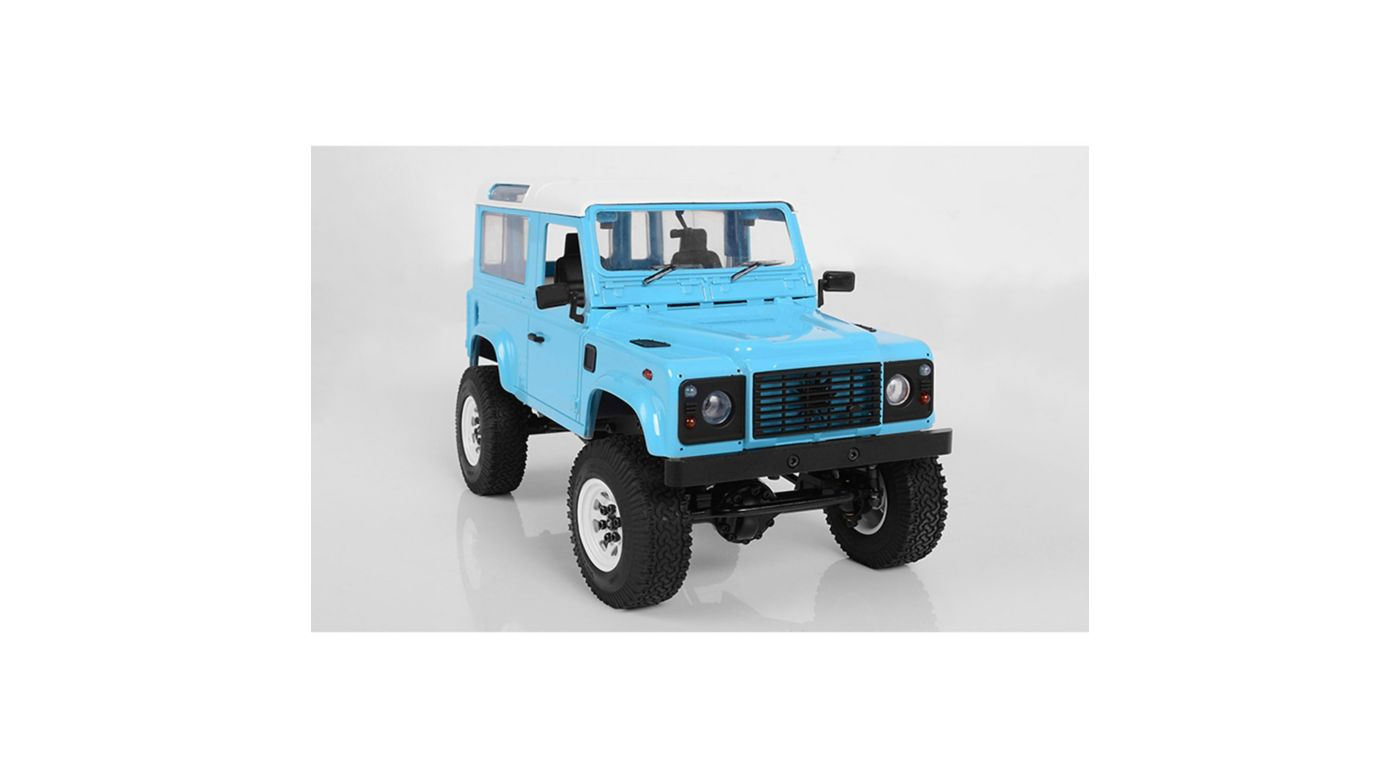 Image for 1/18 Gelande II Truck Brushed RTR, D90 Body, Blue from HorizonHobby