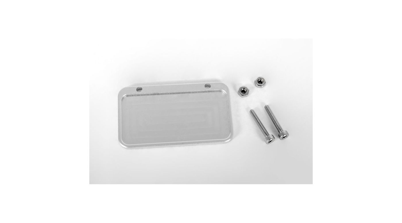Image for Scale Metal License Plate Frame from HorizonHobby