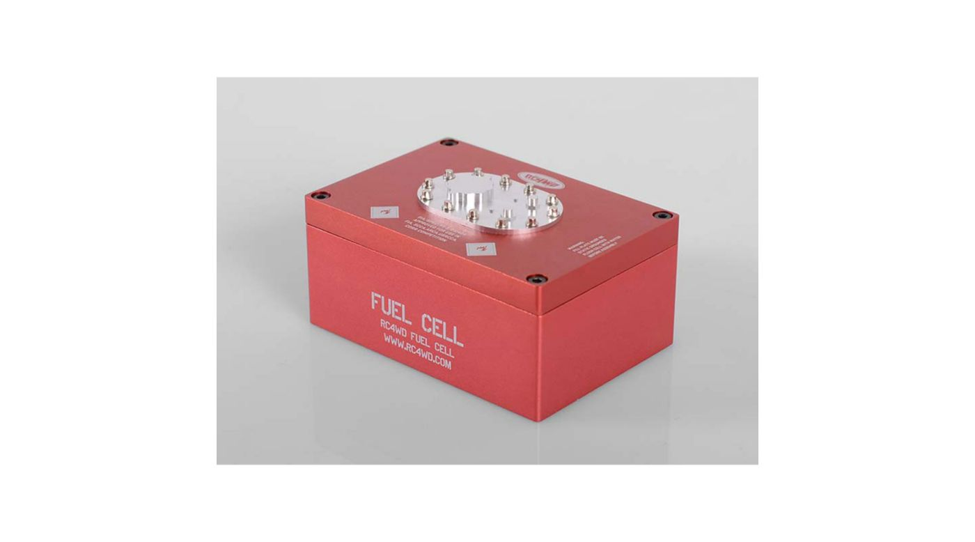 Image for Billet Aluminum Fuel Cell Radio Box, Red from HorizonHobby