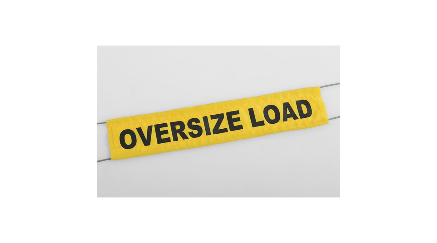 Image for Oversize Load Flag with Ropes from HorizonHobby