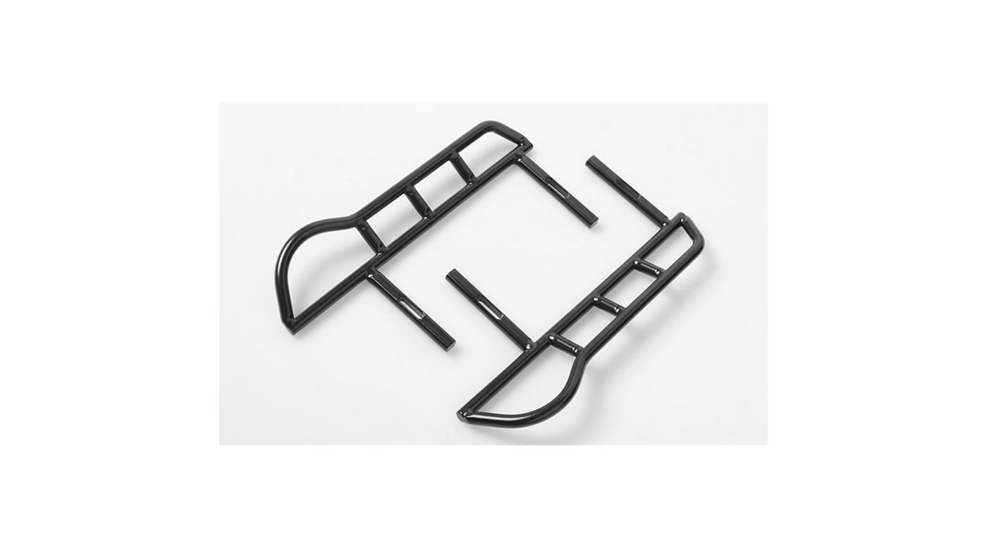 Image for Tough Armor Side Steel Sliders for Axial SCX10-II from HorizonHobby