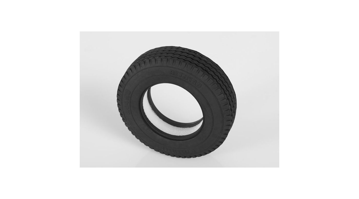 Image for 1/14 Retread 1.7 Commercial Semi Truck Tires from HorizonHobby