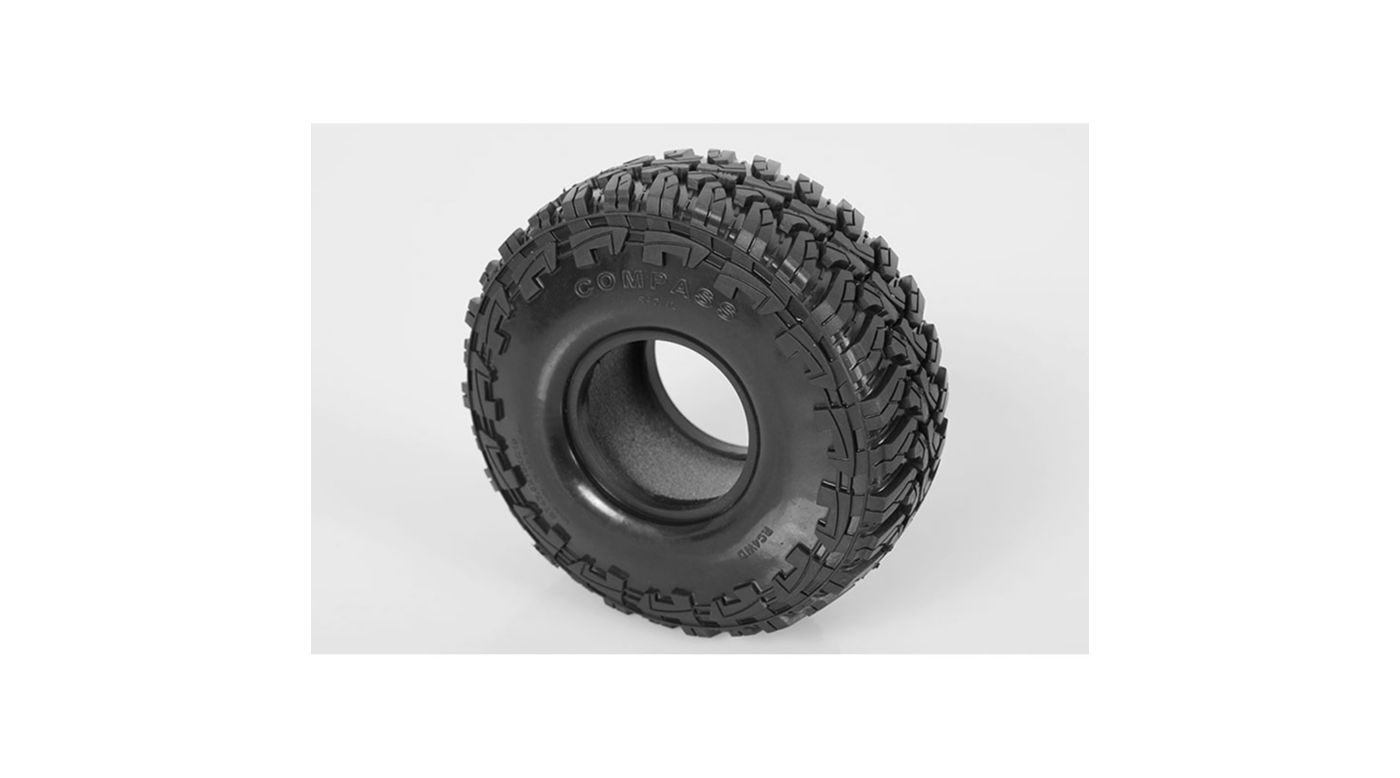 Image for Compass 1.9 Scale Tire (2) from HorizonHobby