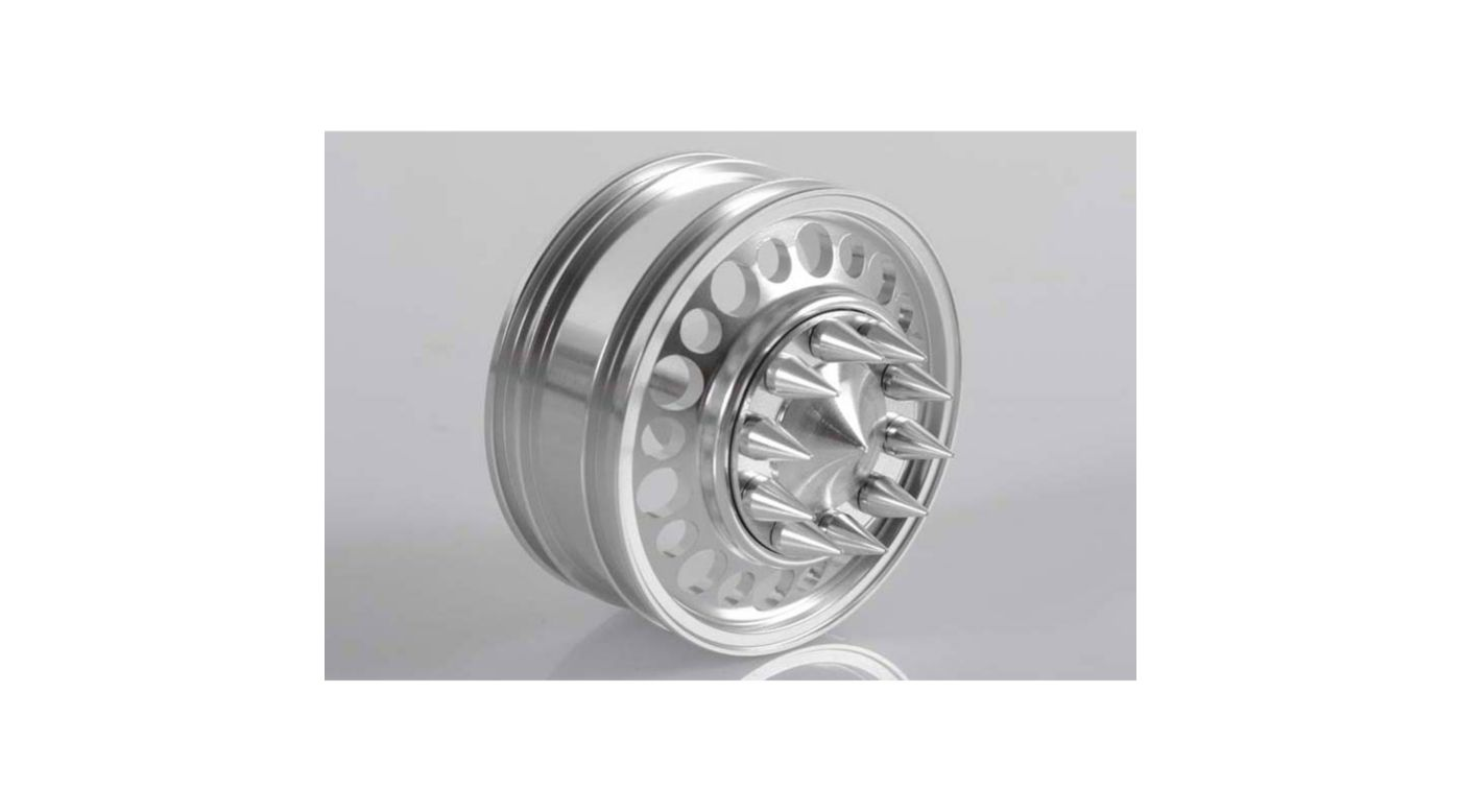 Image for Front Chaos Semi Truck Wheel w/ Spiked Cap from HorizonHobby