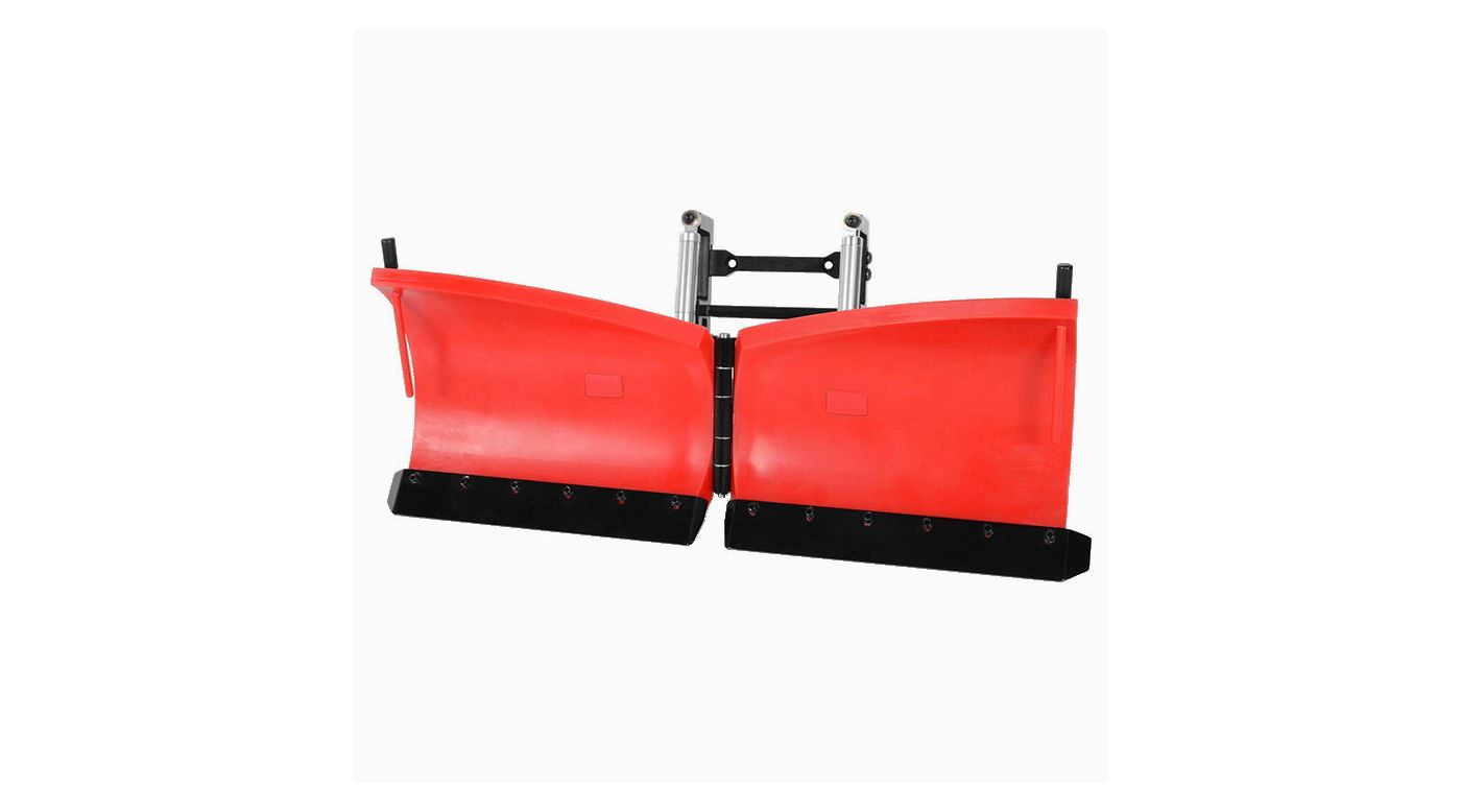 Image for Super Duty V Snow Plow, Red from HorizonHobby