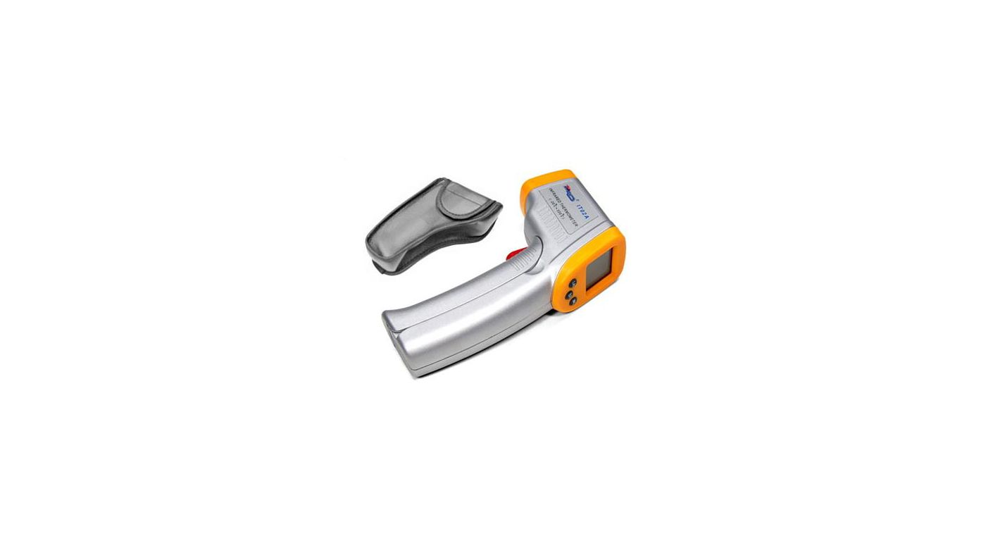 Image for Infrared Temperature Gun with Laser, Yellow from HorizonHobby
