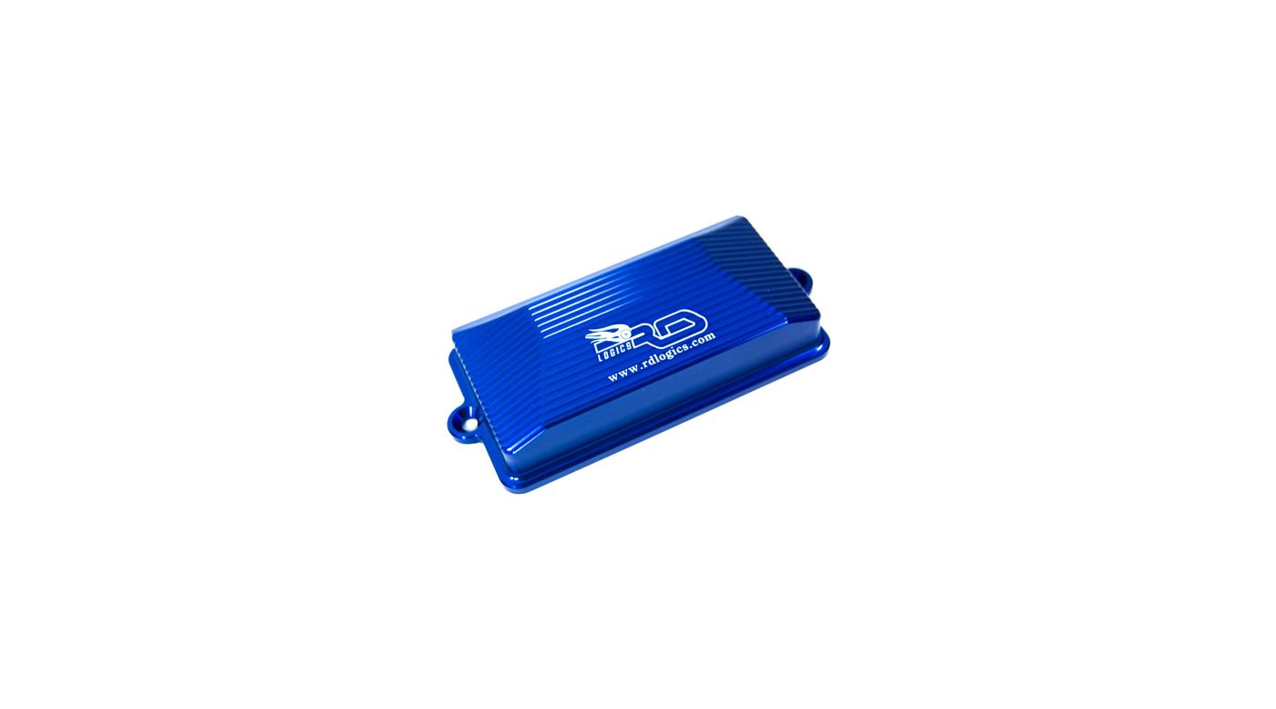 Image for Receiver Box Cover, Blue: SLH from HorizonHobby