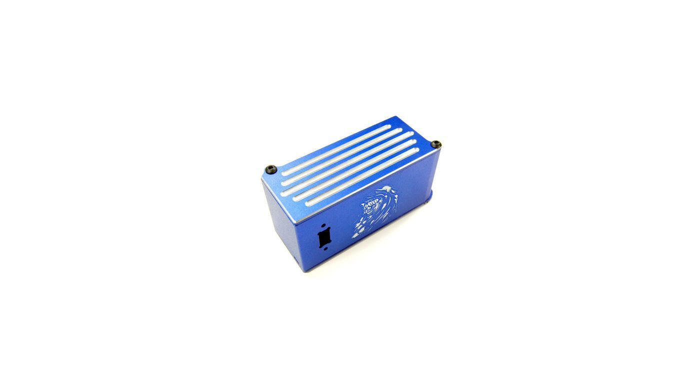 Image for Aluminum Battery Box, Blue: Tmaxx2.5/3.3 from HorizonHobby