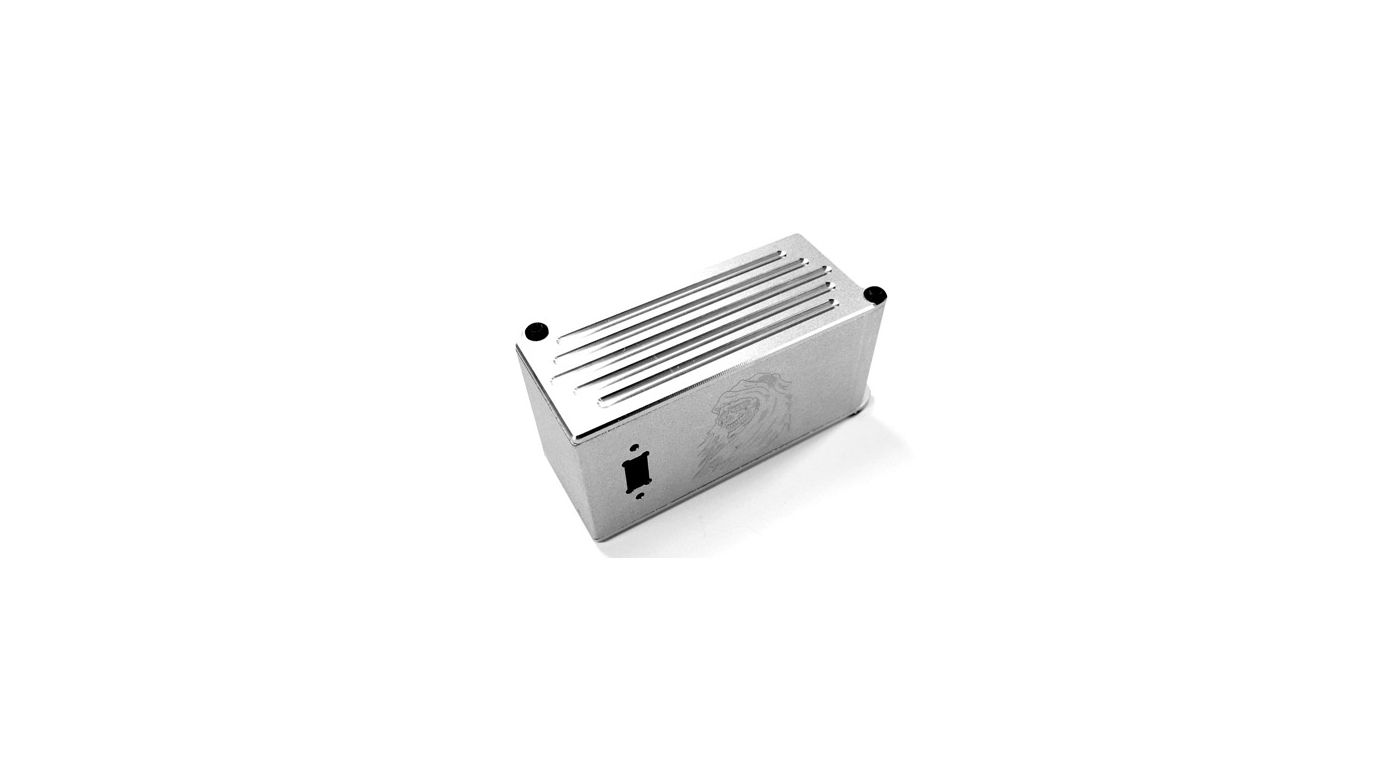 Image for Aluminum Battery Box, Silver: Tmaxx 2.5/3.3 from HorizonHobby