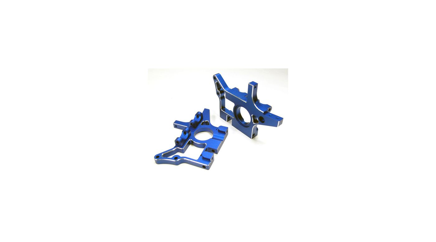 Image for Aluminum Head Front BulkHead, Blue: TMAXX 2.5/3.3 from HorizonHobby