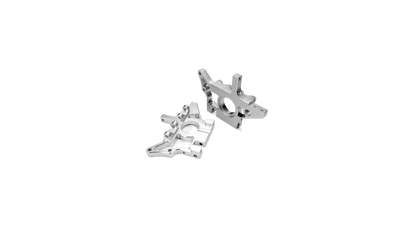 Image for Aluminum HD Rear Bulkhead, Silver: TMaxx 2.5/3.3 from HorizonHobby