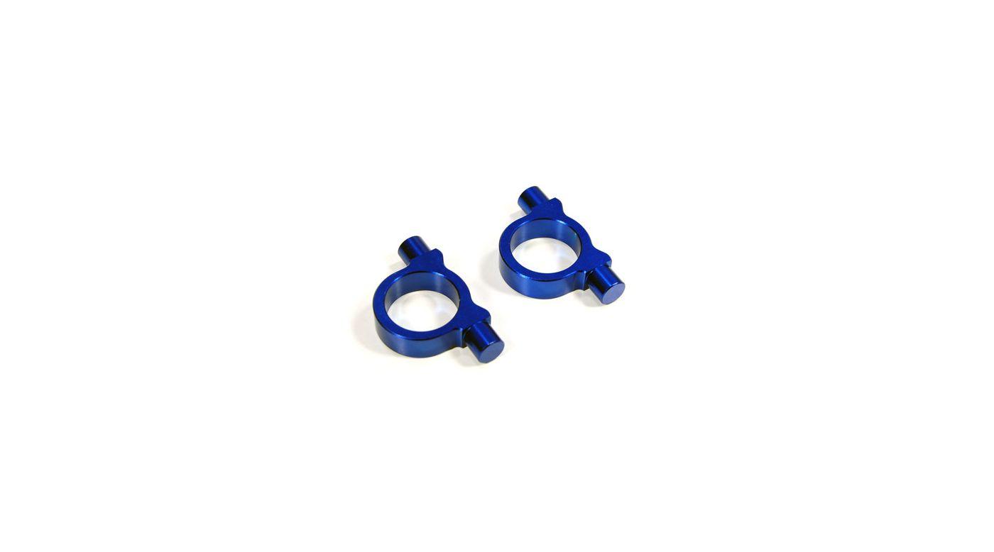 Image for Aluminum Gear Box Collar, Blue: Tmaxx2 2.5/3.3 from HorizonHobby