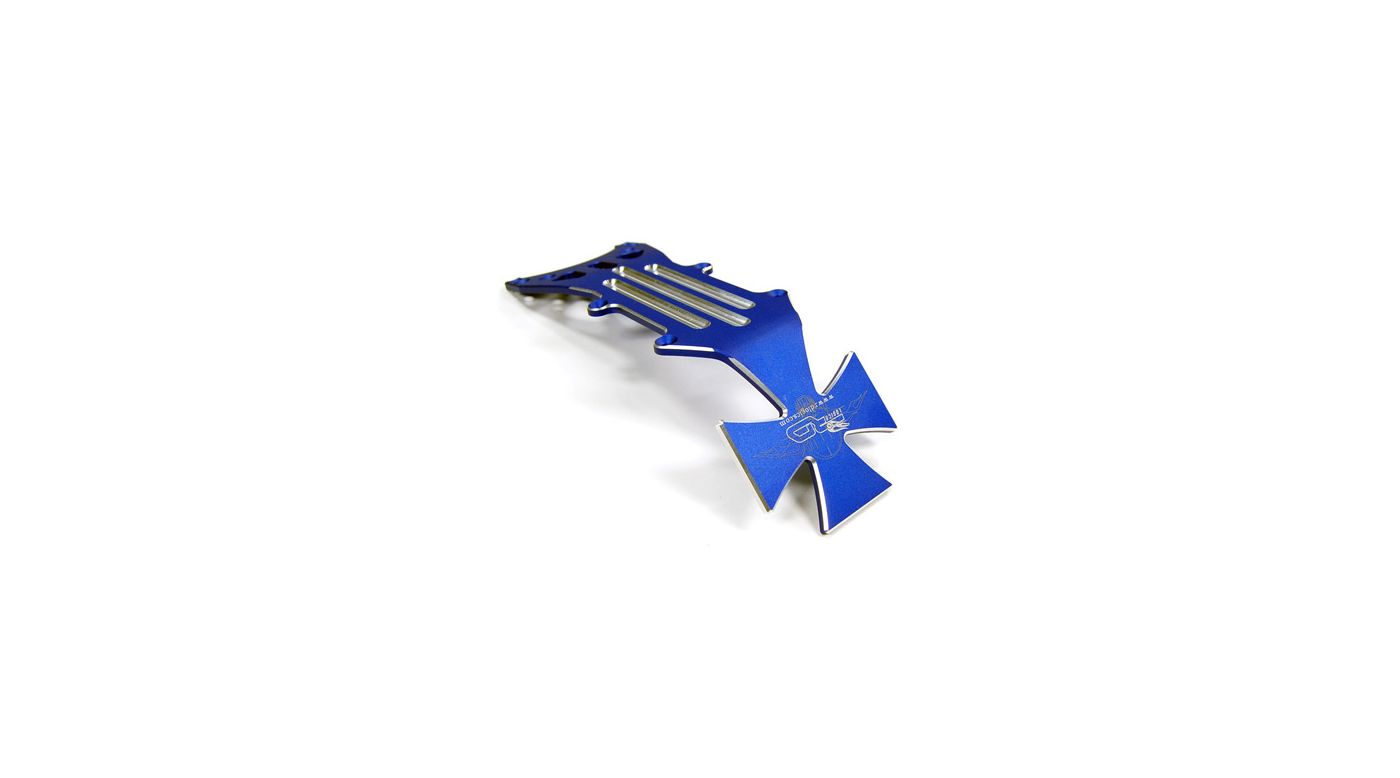Image for Aluminum Front Skid Plate,Blue: Tmaxx 2.5/3.3 from HorizonHobby