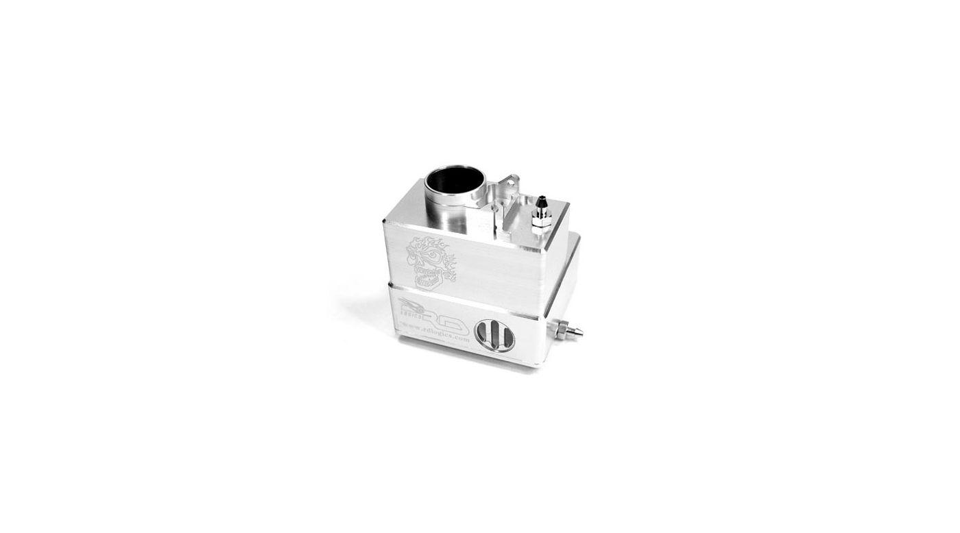 Image for Aluminum Fuel Tank, Silver: Tmaxx 2.5/3.3 from HorizonHobby