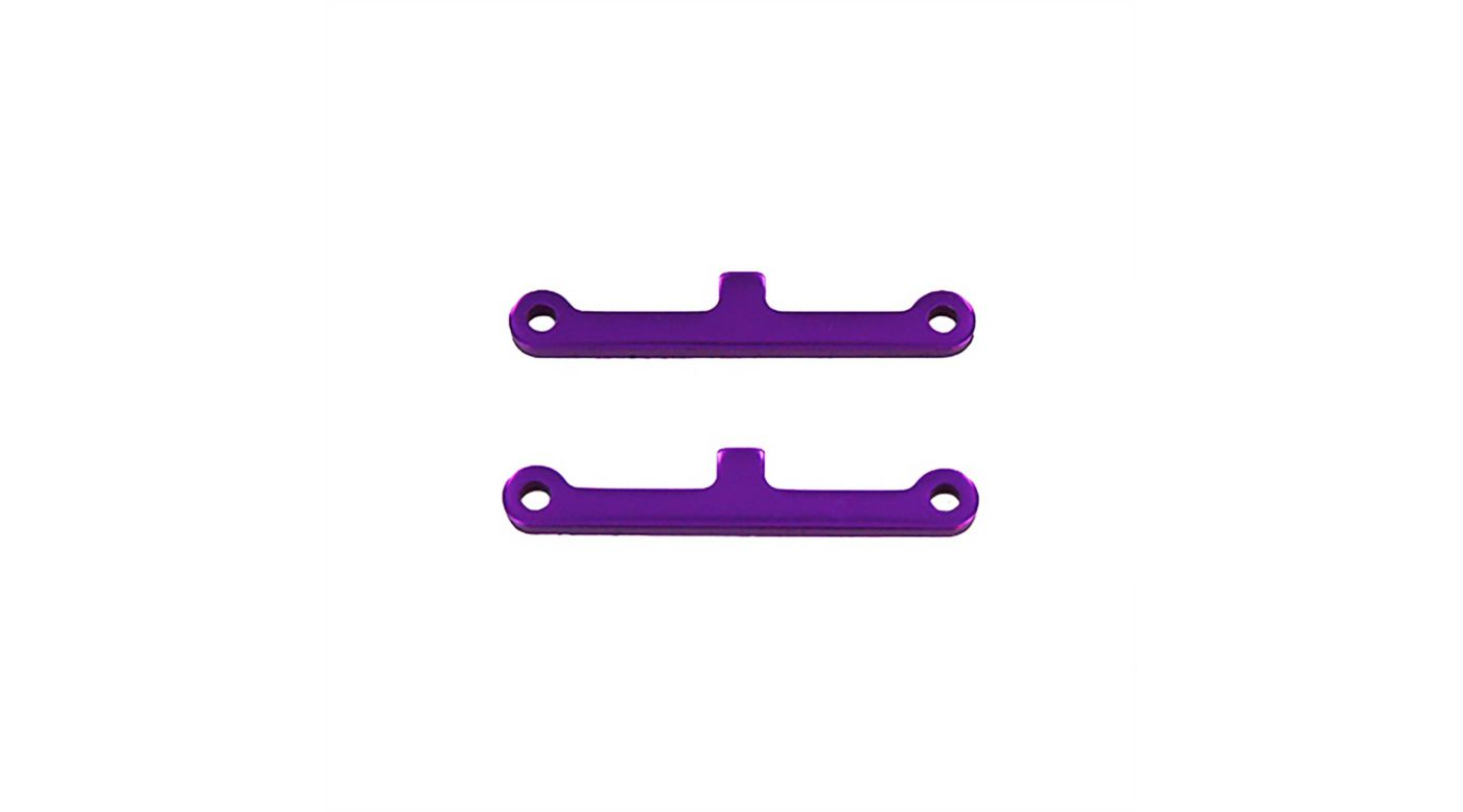 Image for Front/Rear Suspension Arm Hinge Pin Brace, Purple (2): Tornado, Volcano from HorizonHobby