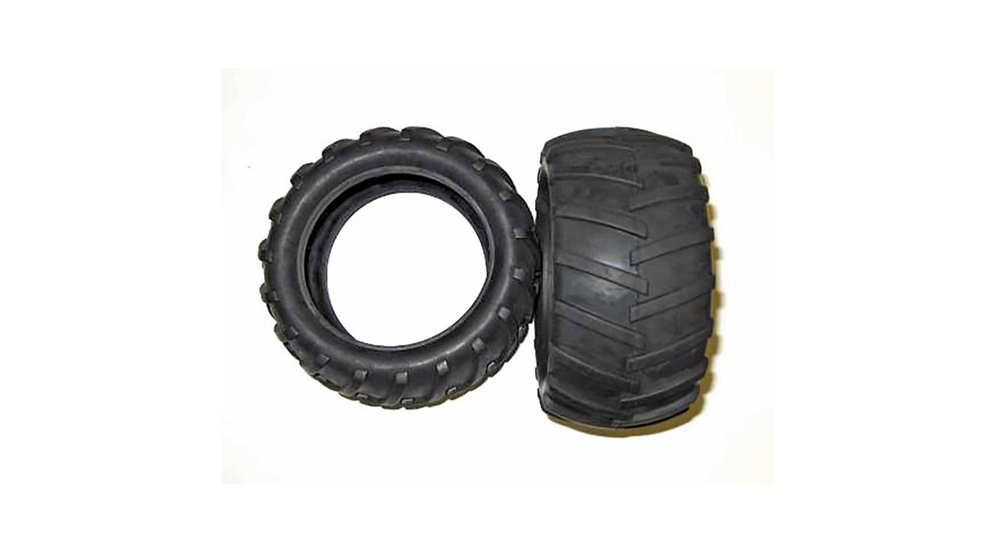 Image for 2.8 Tractor Tire 17mm Hex Front/Rear: Volcano EPX/PRO from HorizonHobby