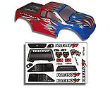 Redcat Racing - 1/10 Truck Body, Red, White and Blue: Volcano