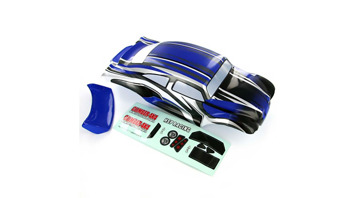 Image for 1/10 Baja Body, Blue and Black: Volcano EPX/PRO from HorizonHobby
