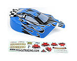 Redcat Racing - 1/10 Buggy Body, Blue Flame: Tornado EPX/PRO