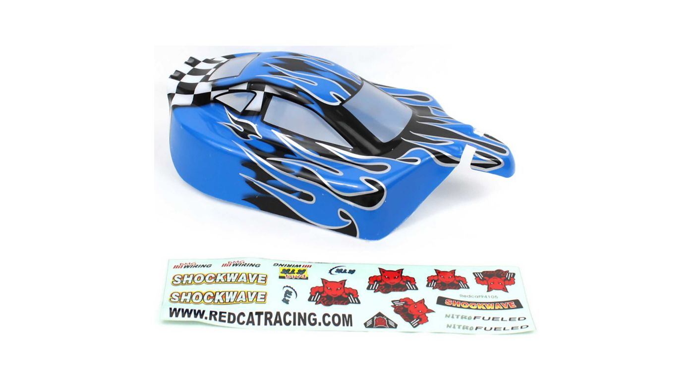 Image for 1/10 Buggy Body, Blue Flame: Tornado EPX/PRO from HorizonHobby