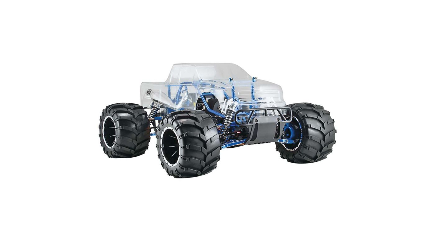 Image for 1/5 Rampage MT PRO Truck V3 Gas Clear RTR from HorizonHobby