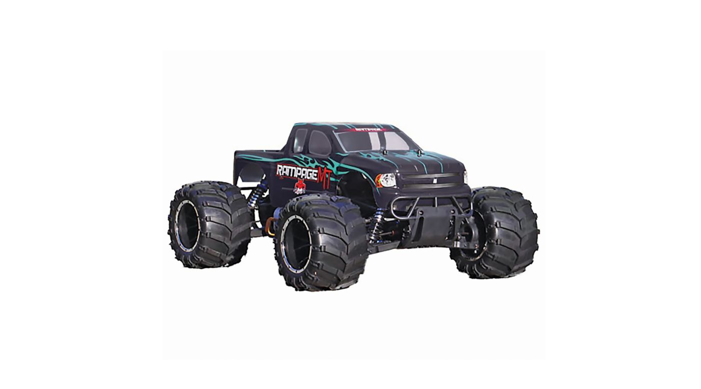 Image for 1/5 Rampage MT V3 4WD Gas Monster Truck RTR, Green Flame from HorizonHobby