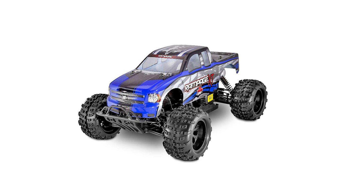 Image for 1/5 Rampage XT 4WD Gas Monster Truck RTR, Blue from HorizonHobby