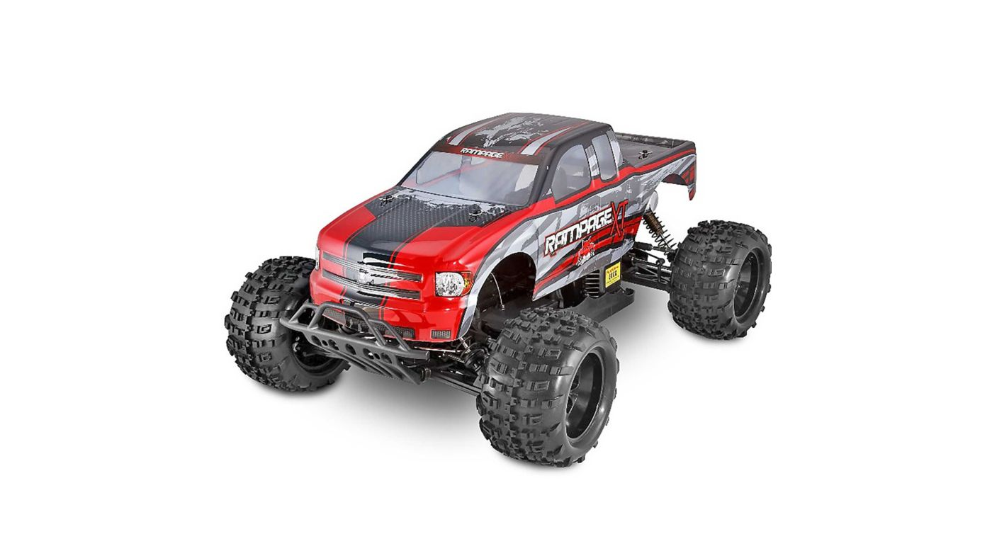 Image for 1/5 Rampage XT 4WD Gas Monster Truck RTR, Red from HorizonHobby