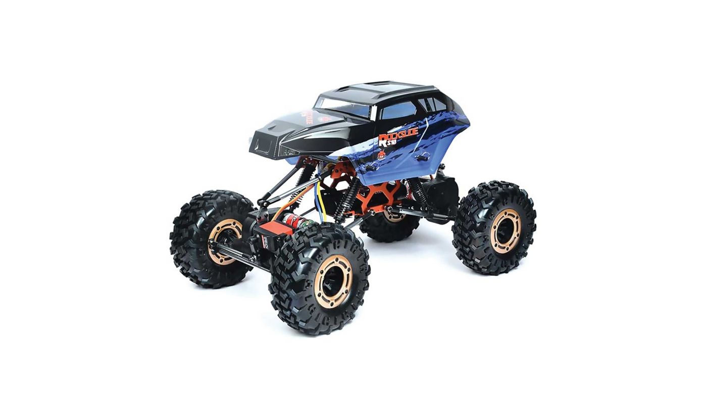Image for 1/10 Rockslide RS10 XT 4WD Brushed Crawler, Blue from HorizonHobby